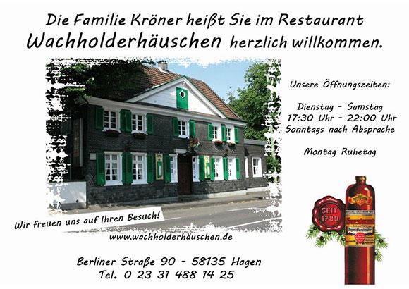 Restaurant Wachholderhäuschen