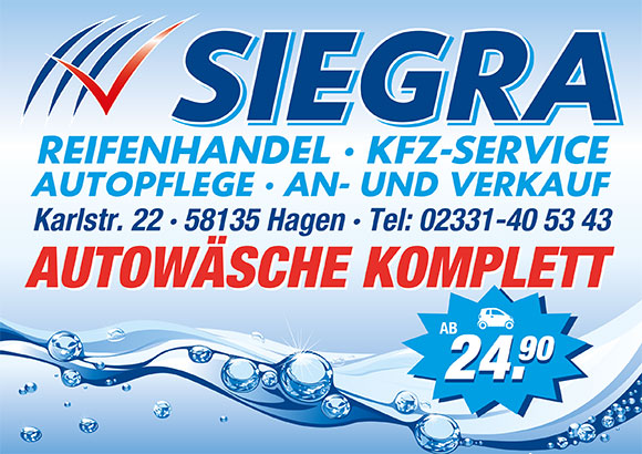 Siegra Reifenhandel & Autopflege